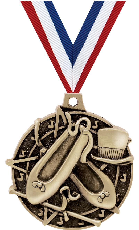 """2"""" Dance Medals"""