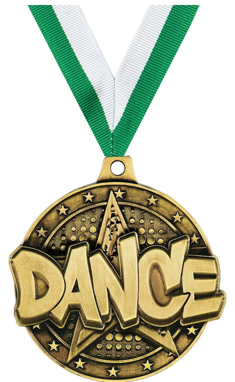 "2"" Dance Star Medals"