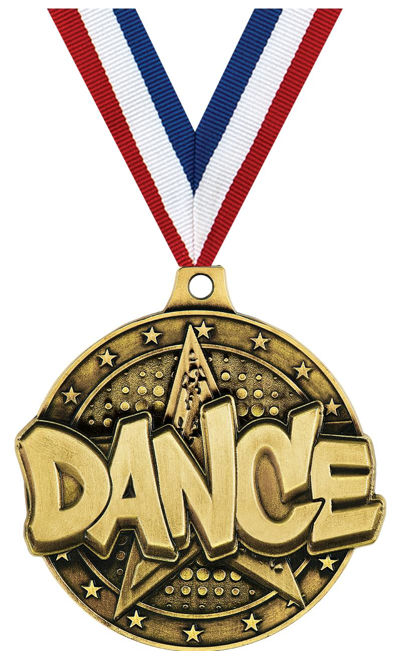 "2"" Dance Star Medals"