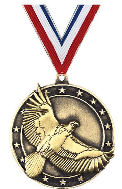 """2"""" Eagle Medal"""