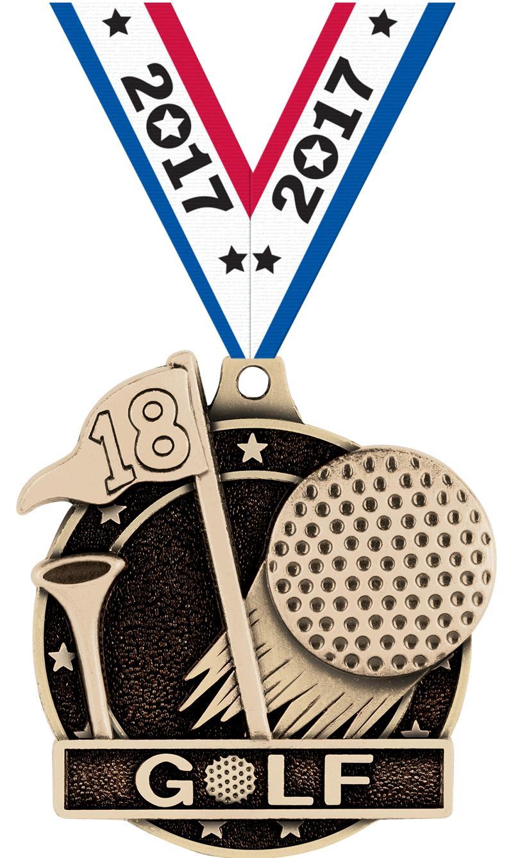 """2"""" Golf Medals"""