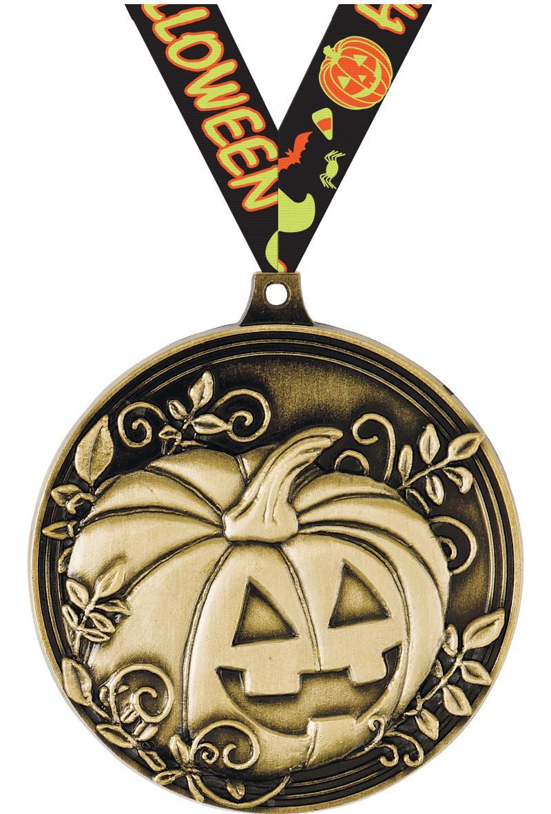 """2"""" Halloween Medals"""