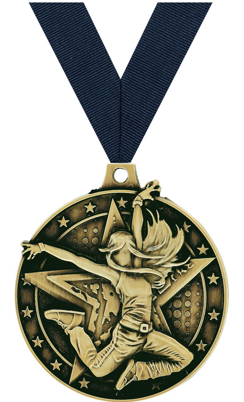 """2"""" Hip Hop Medal"""