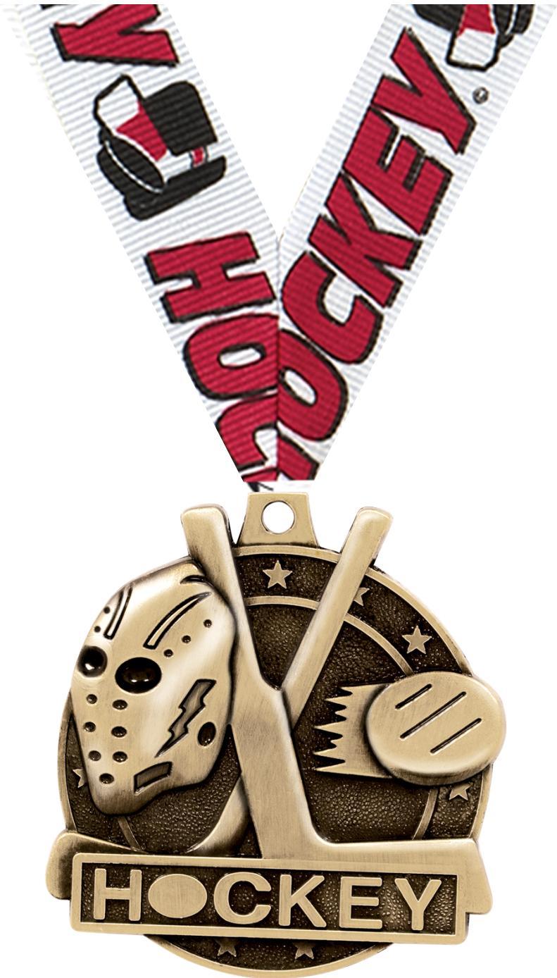 """2"""" Hockey Medals"""