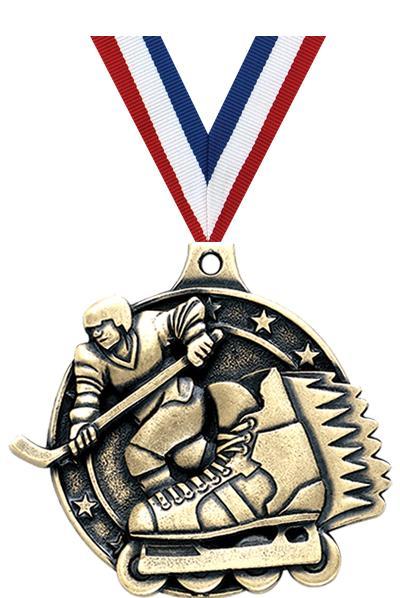 """2"""" Inline Hockey Medals"""