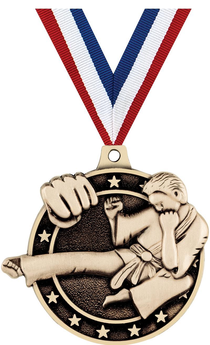 """2"""" Martial Arts Medals"""