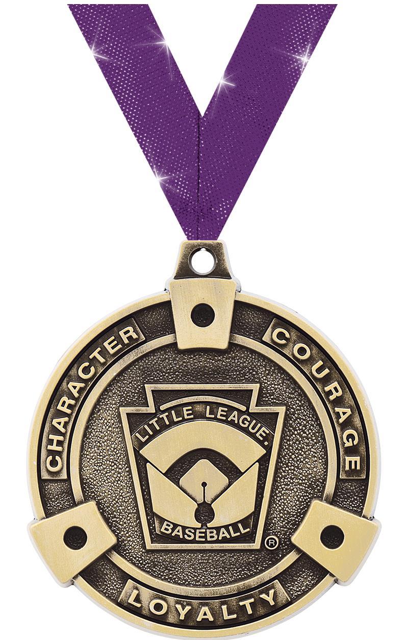 """2"""" Little League Baseball Medals"""