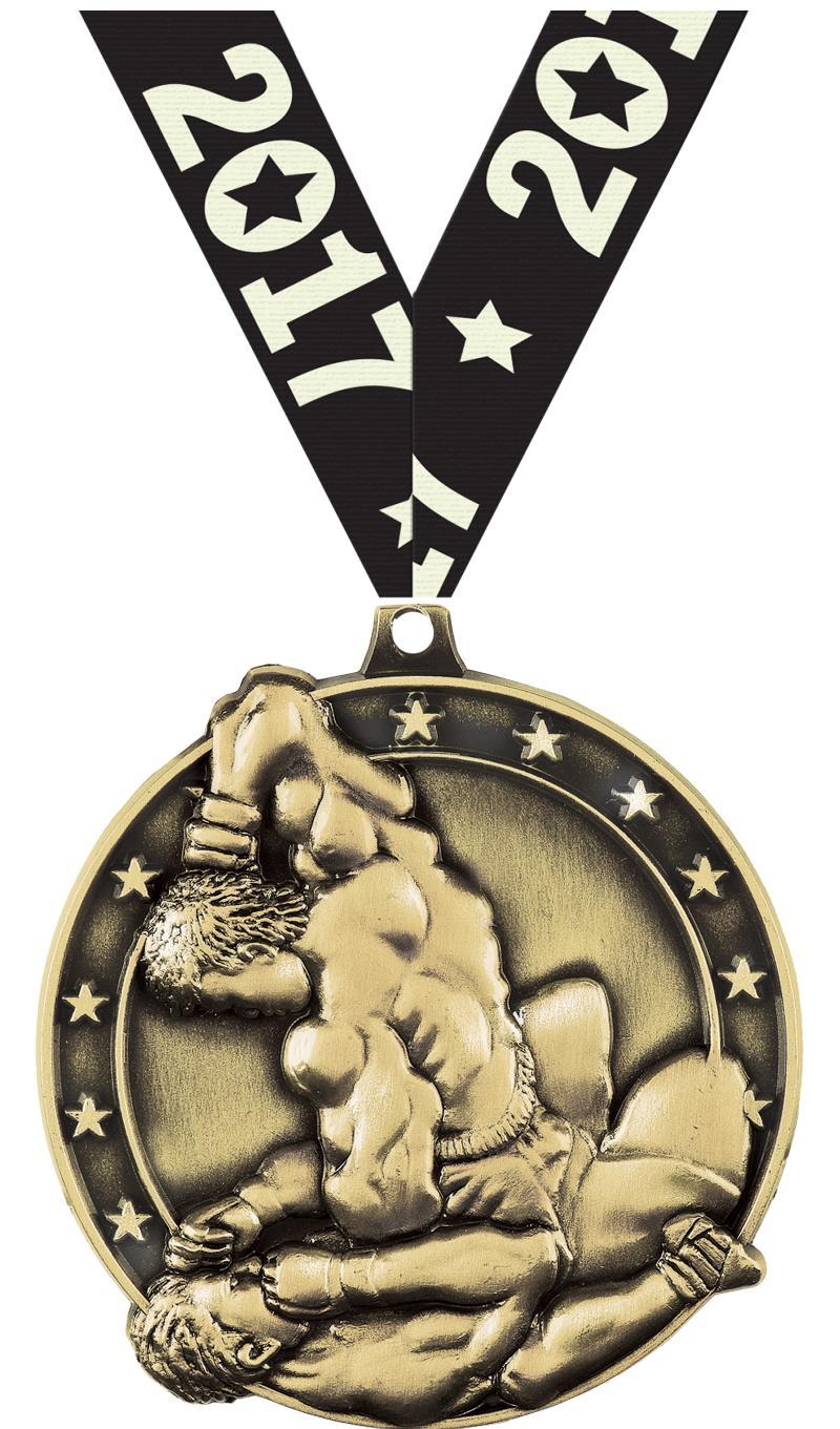 """2"""" Mixed Martial Arts Medals"""