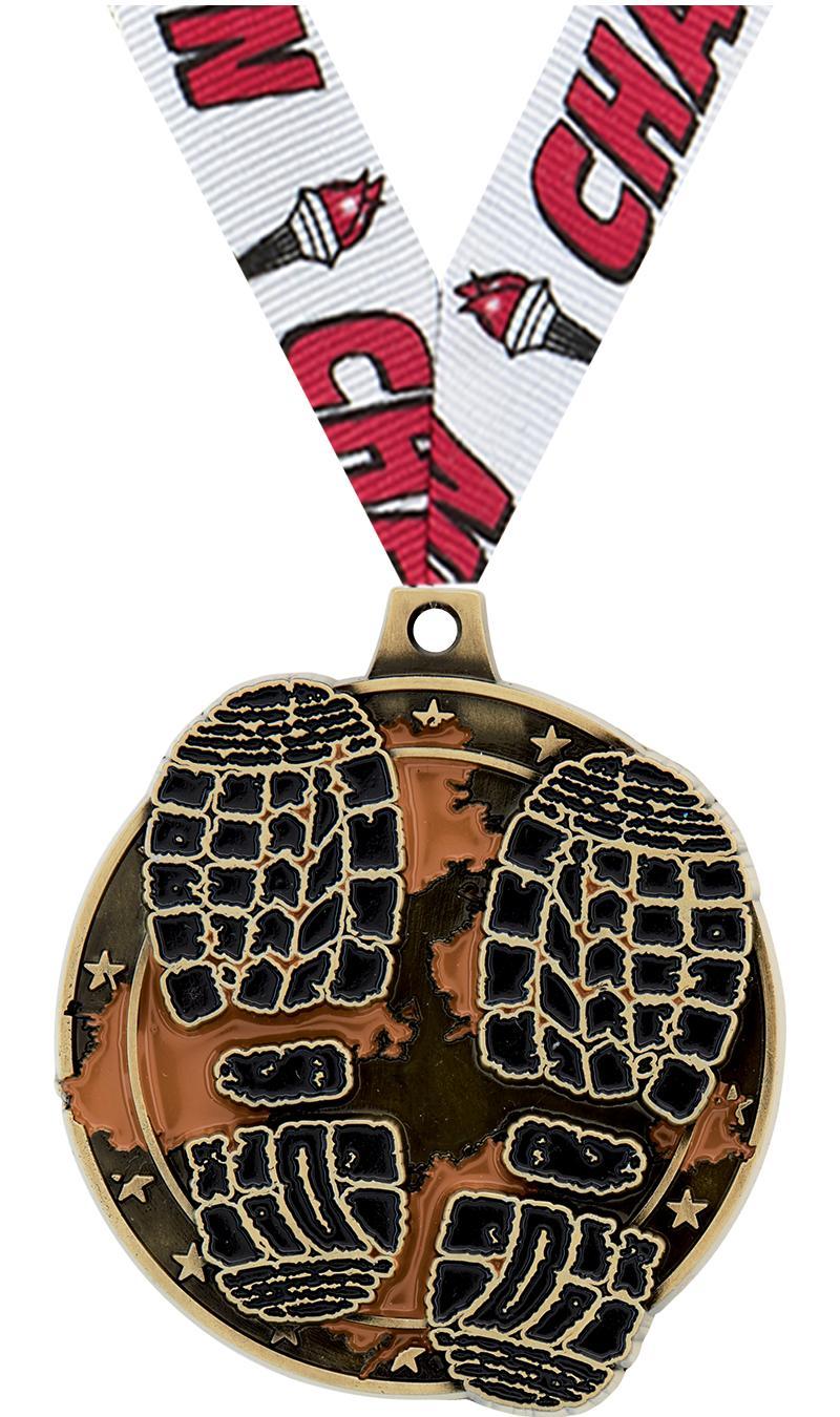 """2"""" Mud Race Medal"""