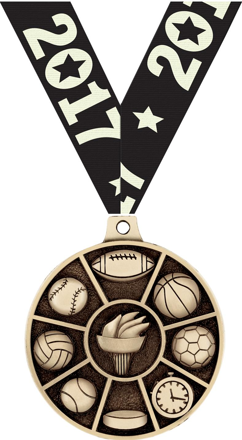 "2"" All Sports Medals"