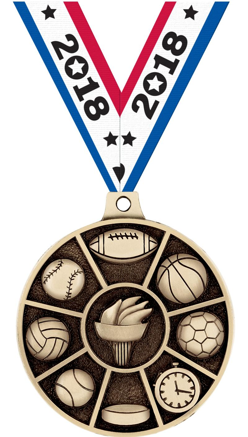 """2"""" All Sports Medals"""