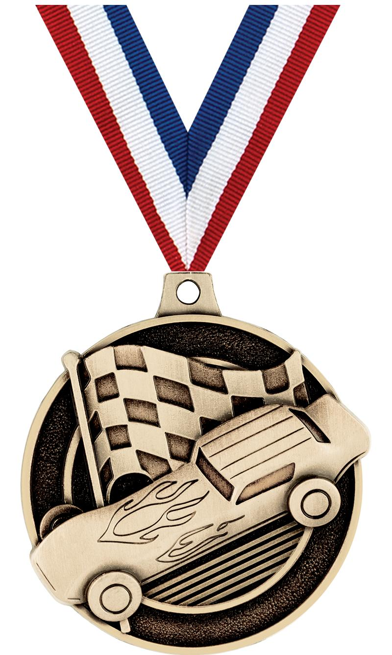 "2""3D DERBY MEDAL GOLD"