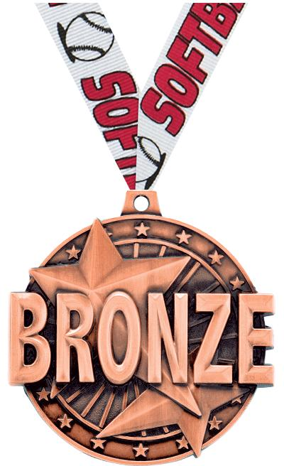 "2"" ""Bronze"" Place Medal"