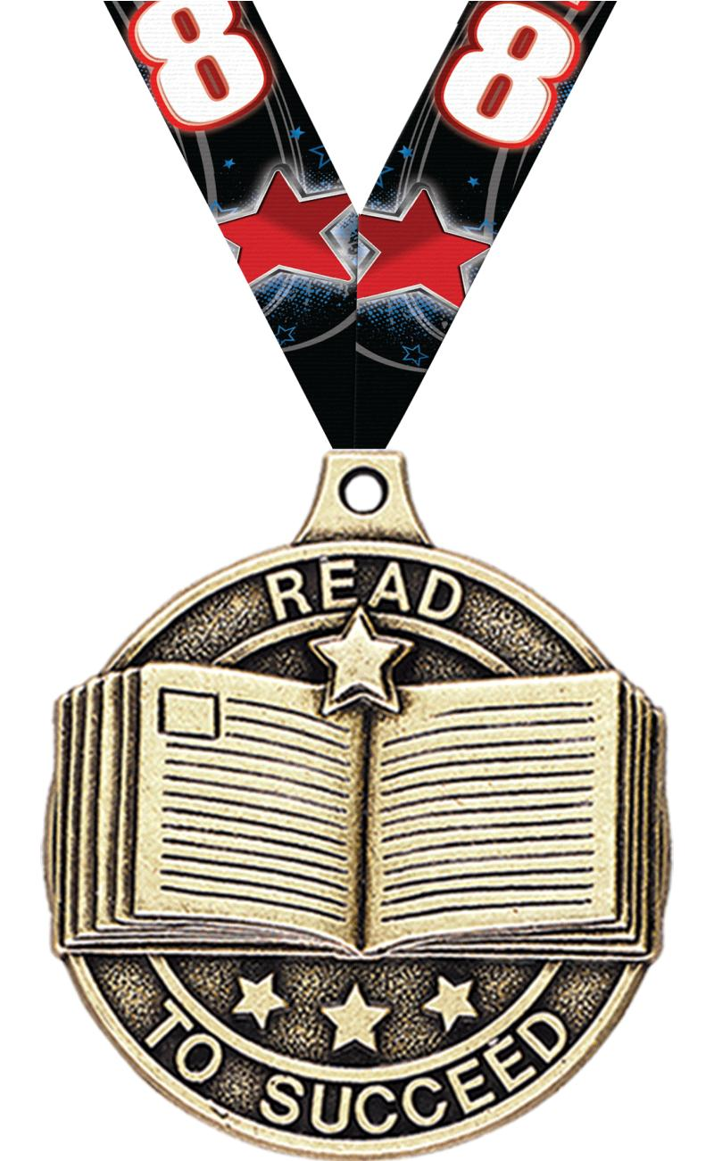 "2"" Read to Succeed Medals"