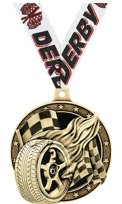 "2"" Racing Tire Medals"