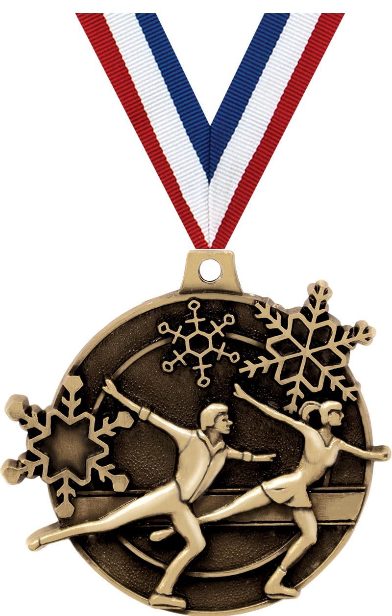 "2"" Skating Medals"