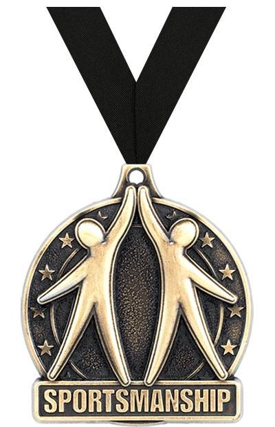 """2"""" Sportsmanship Medals"""