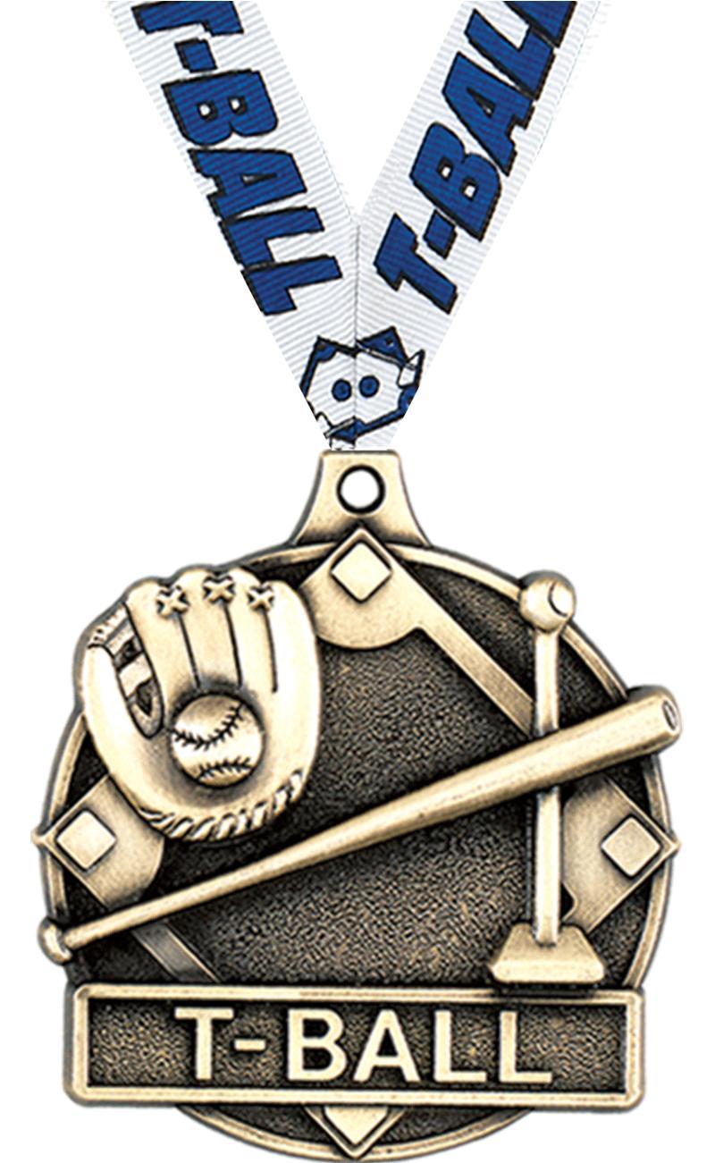 "2"" T-Ball Medals"