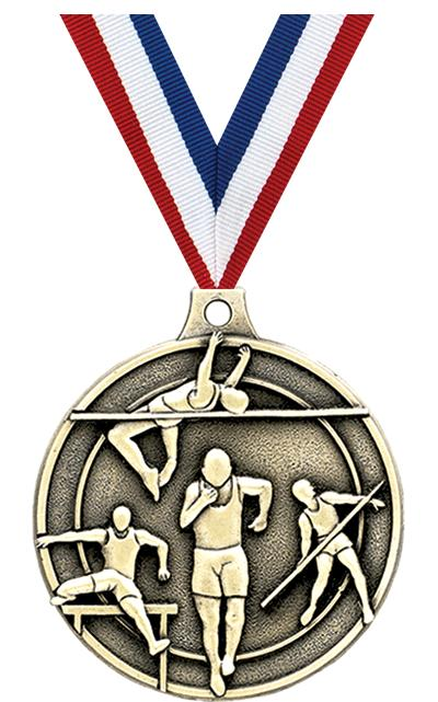 """2"""" Track/Field Medals"""