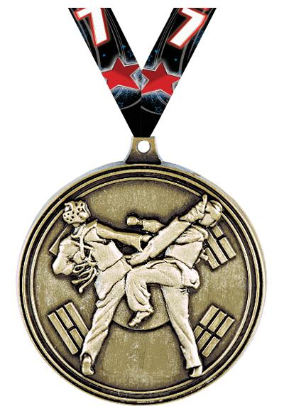 "2"" Tae Kwon-Do Sparring Medals"