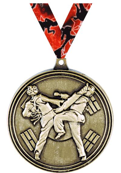 """2"""" Tae Kwon-Do Sparring Medals"""
