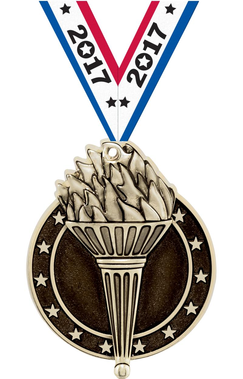 "2"" Torch Medals"
