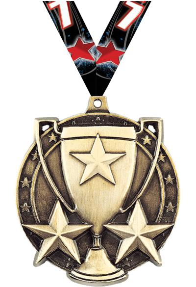 "2"" Star Cup Medals"
