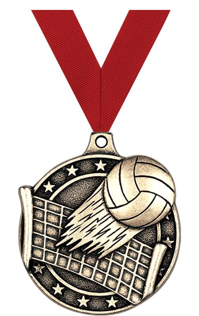 """2"""" Volleyball Medals"""