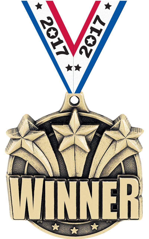 """2"""" Winner Medals"""