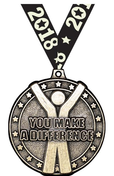 """2"""" You Make A Difference Medal"""