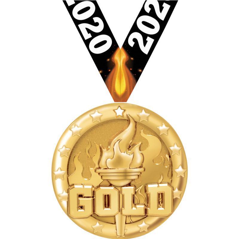 """2"""" BLAZE GOLD MDL GD"""