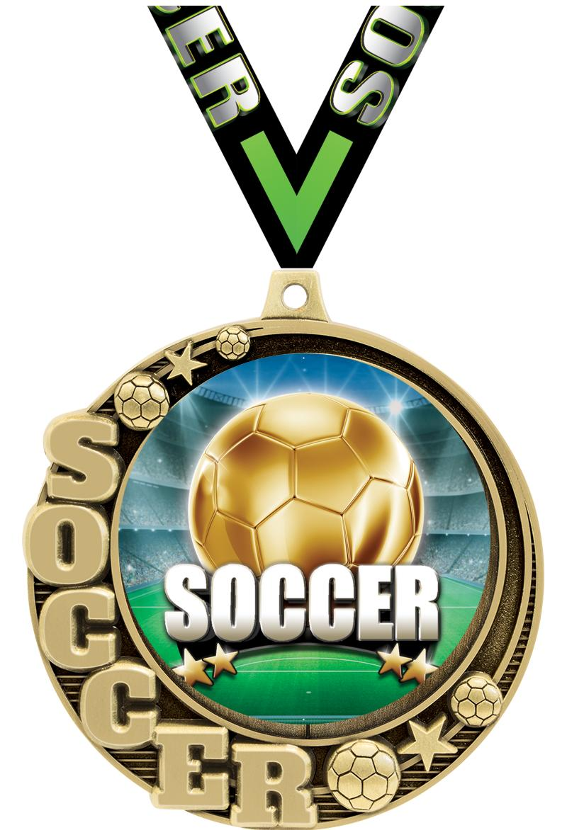 "2.75""CRESCENT SOCCER INS MD GD"