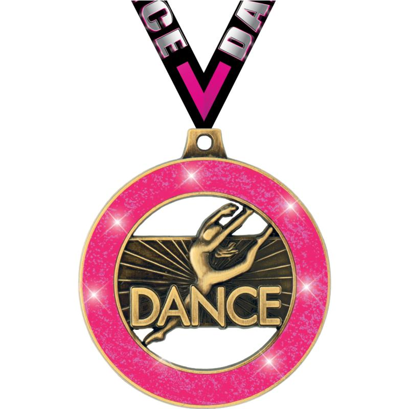 "2""DANCE NEON GLITTR RMZ MDL GD"