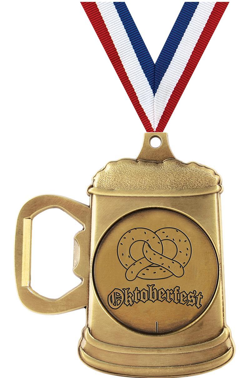 Oktoberfest Bottle Opener Medal