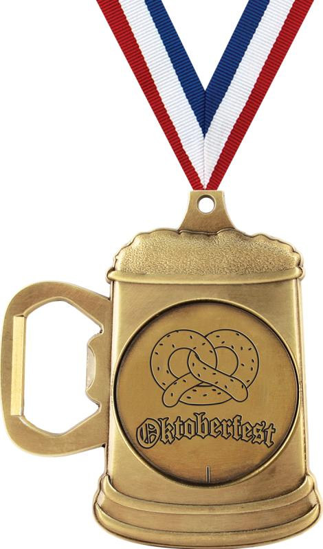 bottle openers oktoberfest bottle opener medal. Black Bedroom Furniture Sets. Home Design Ideas