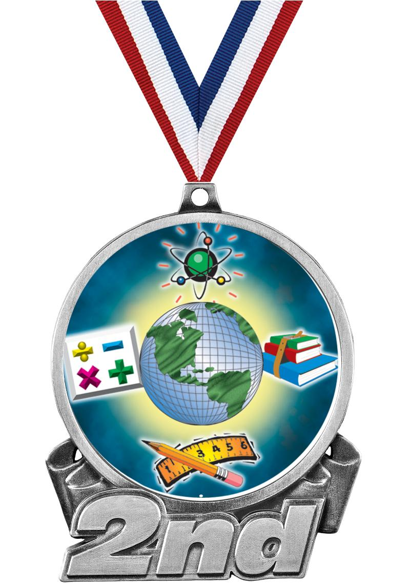 "3""DA 2ND PLACE IN MEDAL SILVER"
