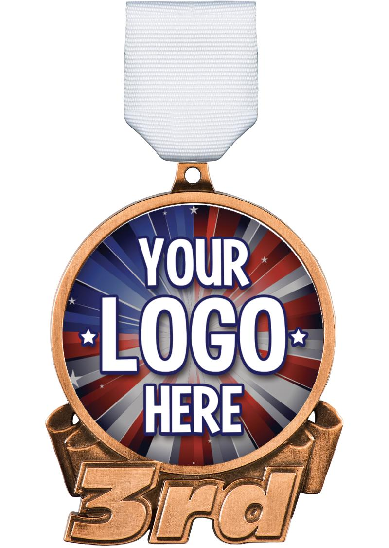 """3"""" 3rd Place Medal"""