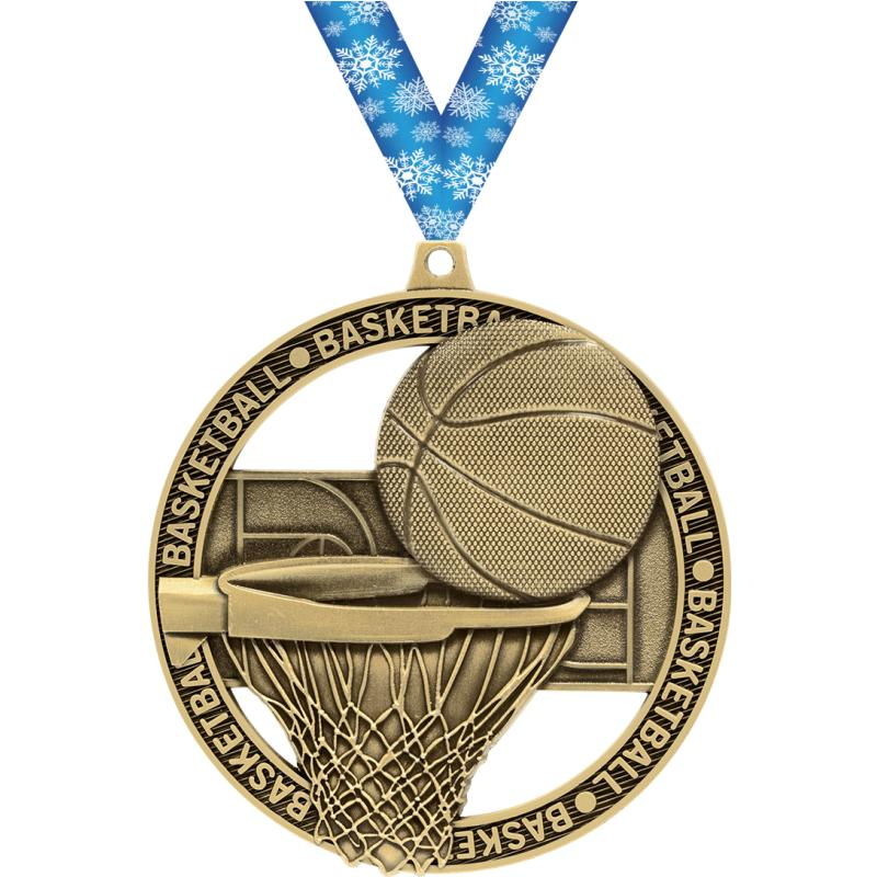 "3""MASSIVE RIMZ BASKETBALL-GOLD"