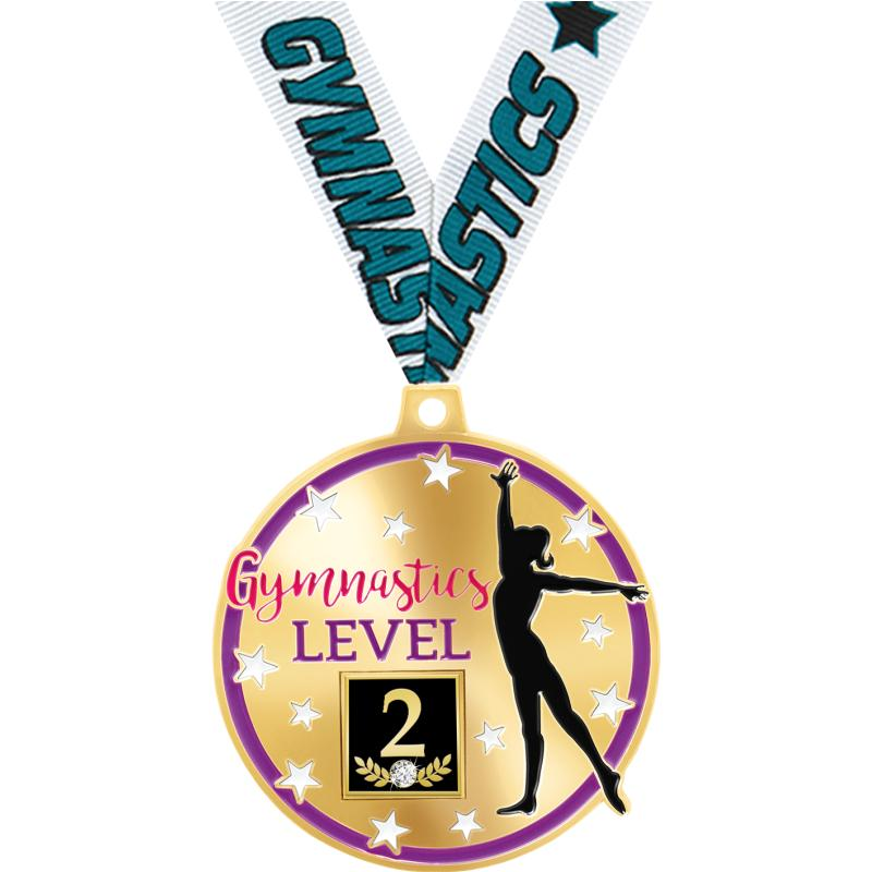 """2"""" DELUXE GYM LEVEL 2 MDL GD"""