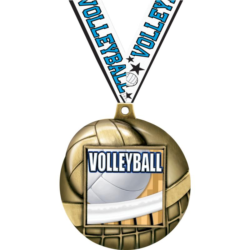 """2.25""""VOLLEYBALL MAJSTC 3D MD G"""