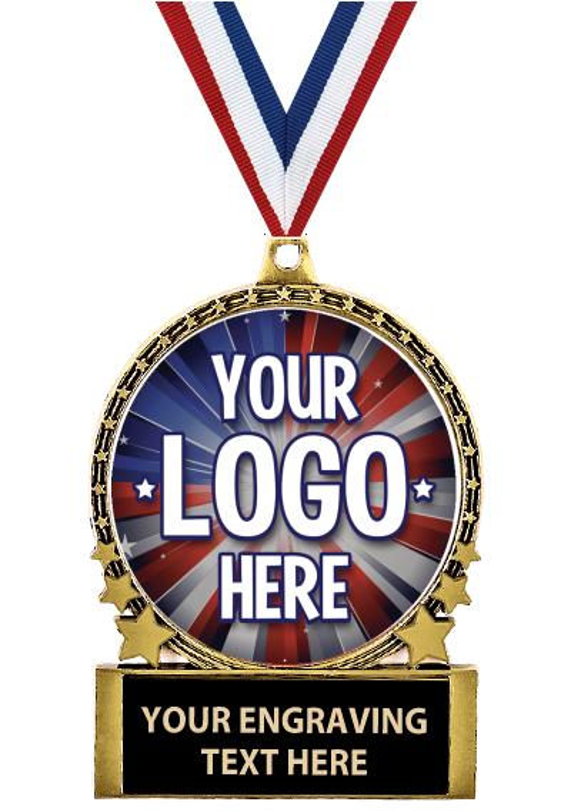 """2 3/4"""" Comet Medal"""