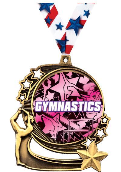 """3"""" Gymnastics Medals"""