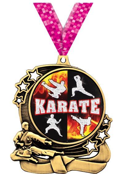 """3"""" Martial Arts Medals"""