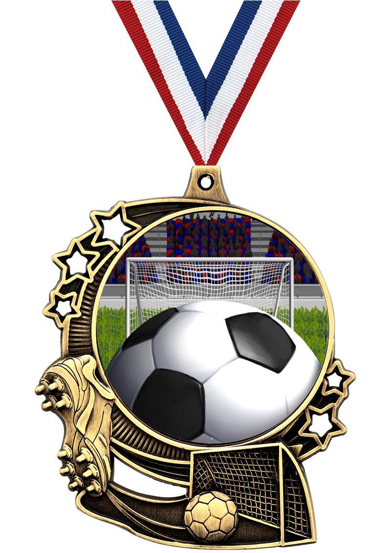 """3"""" Soccer Medals"""