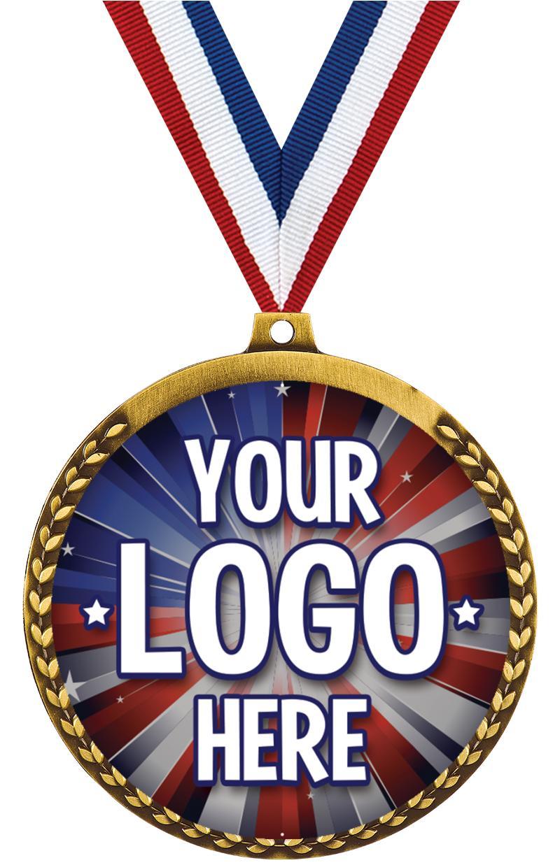 "3 1/2"" Mega Medal"