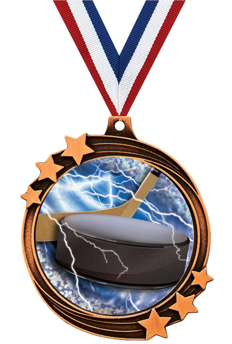 "2 1/2"" SHOOTING STAR MEDAL BRZ"