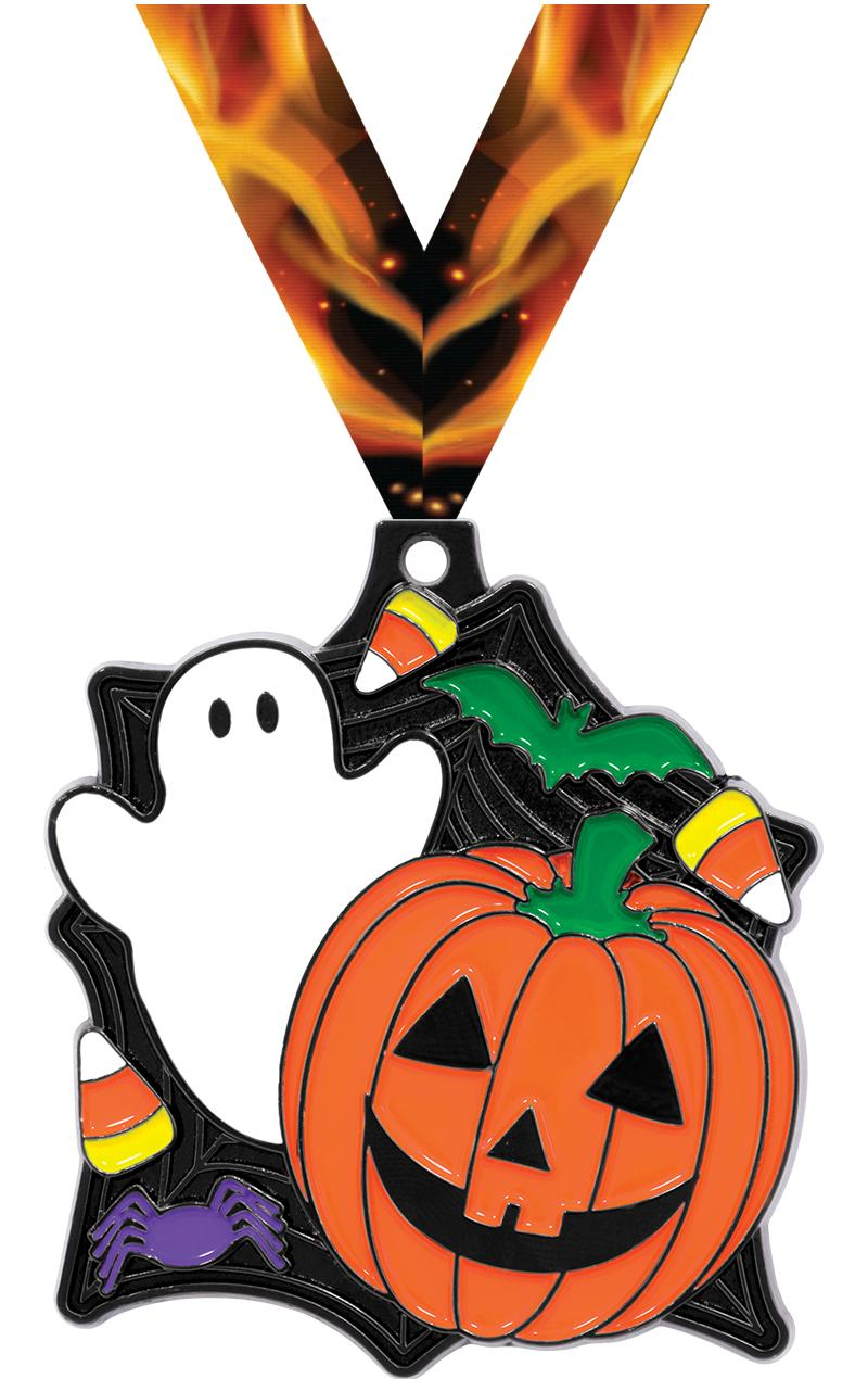 "2"" HALLOWEEN GHOST PUMPKIN MDL"