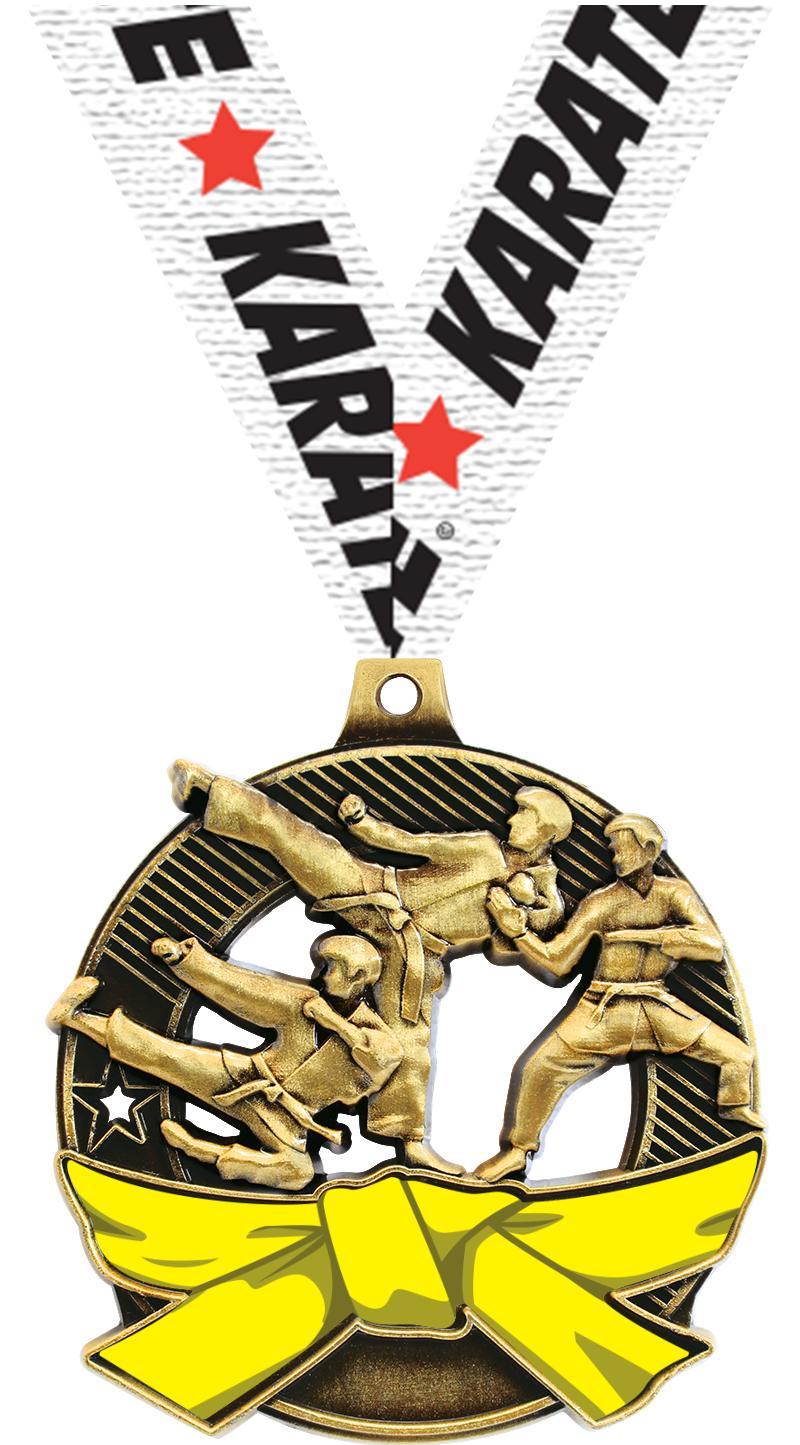 """2 1/4"""" Martial Arts Shieldz Medals"""