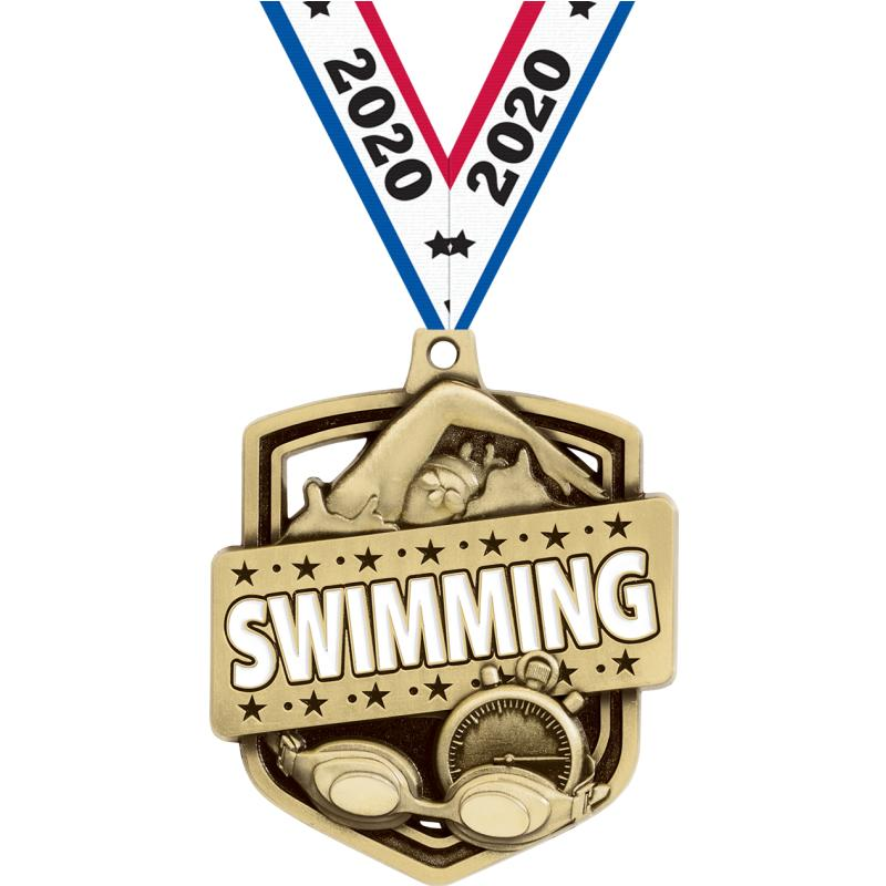 """2.25"""" ADMIRAL SWIMMING MDL GD"""