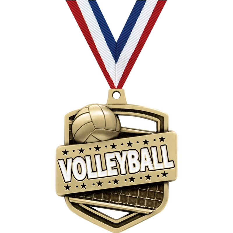 """2.25""""ADMIRAL VOLLEYBALL MDL GD"""